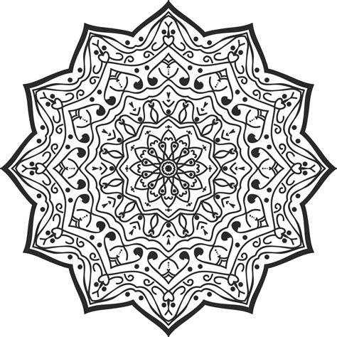 luxury mandala design  vector cdr  axisco