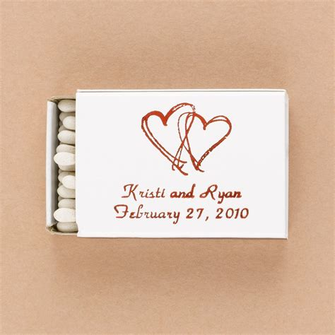 wedding favors matchboxes personalized white matchboxes invitations by