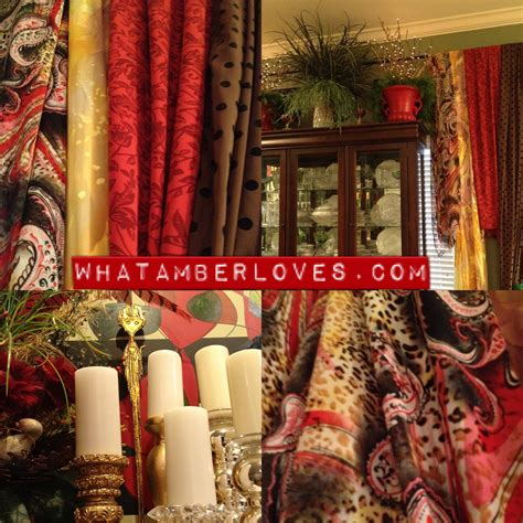 Paint Colors For A Dining Room Gypsy Hippie Scarf Curtains What Amber Loves