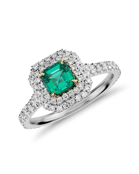 colored rings 70 colored engagement rings we martha stewart weddings
