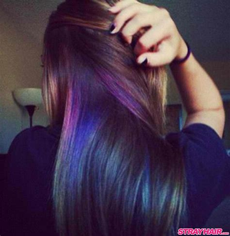 lowlighting the hair under the top layer oil slick hair color is one of the most amazing things you