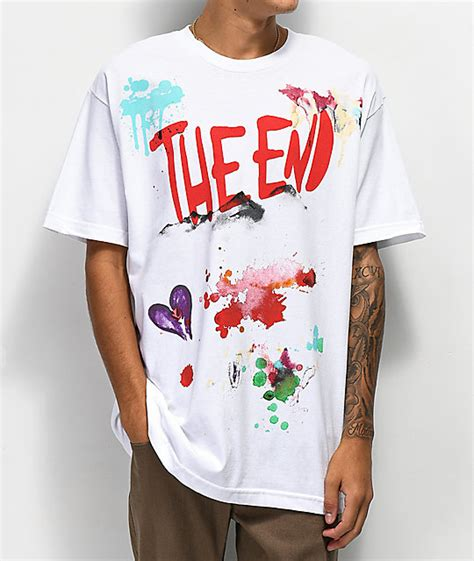 The End White Shirt by The End Montana White T Shirt Zumiez
