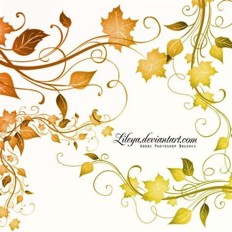 elegant pattern brush photoshop 200 elegant free photoshop leaf brushes themecot
