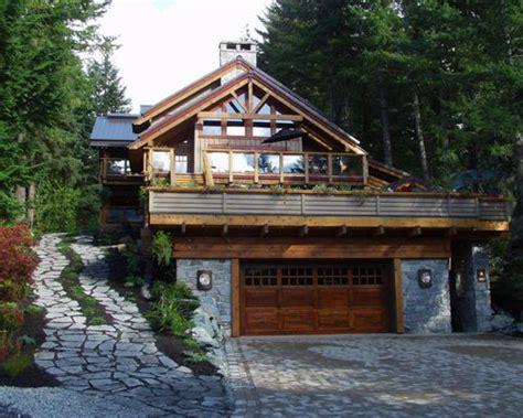 Hillside Garage Plans by Garage Built In To Hillside Home Design Ideas Pictures