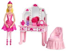 Vanity Jewelry Armoire Barbie In The Pink Shoes Small Doll Furniture Vanity