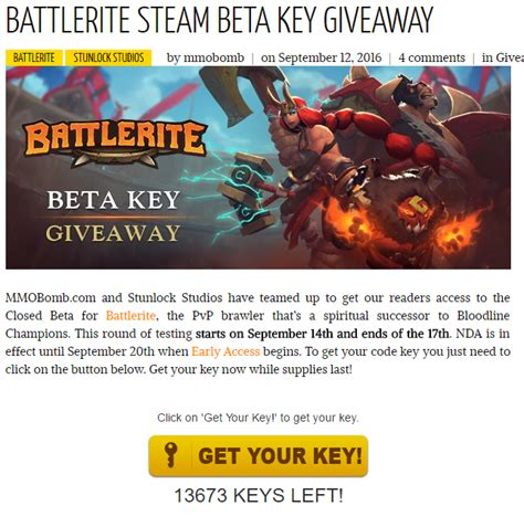 Razer Giveaway Battlerite - battlerite steam beta key giveaway 게임 할인 무료 itcm