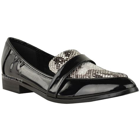 new loafer shoes new womens school loafer shoes flat office