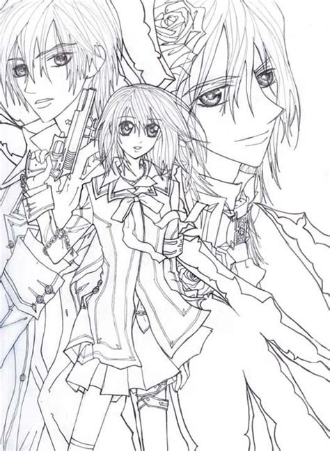 anime coloring pages vire knight 61 best images about vires on pinterest charlotte