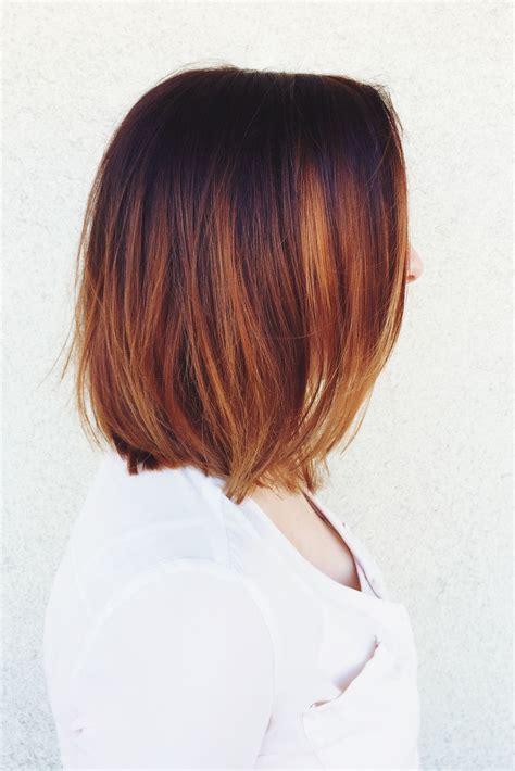 copper brown hair on pinterest color melting hair blonde hair exte copper color melt balayage colormelt ombre olaplex