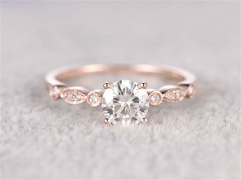 80 beautiful rose gold wedding rings ideas you can t