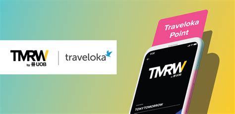 tmrw  uob traveloka partnership