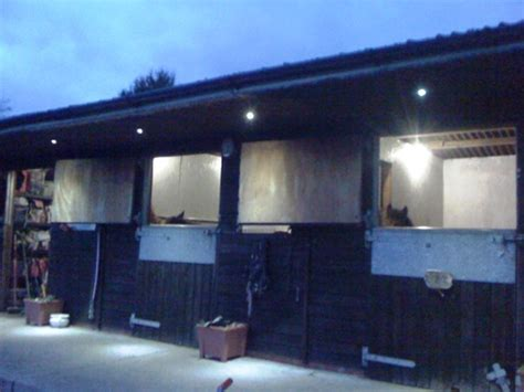 12v lighting for stable block or barns