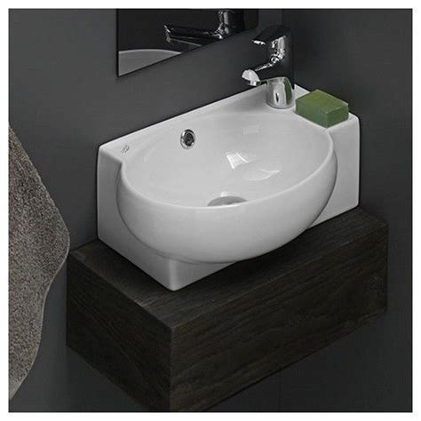 White Vessel Bathroom Sink Bathroom Sinks Corner Ceramic White Mini Wall Mount