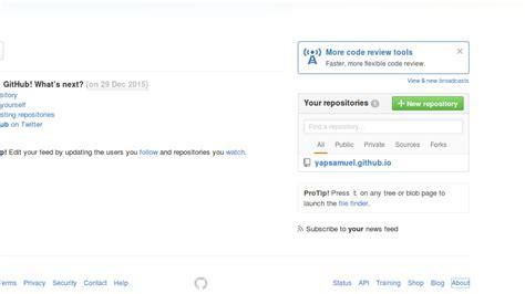 tutorial upload file ke github cara upload project ke github di ubuntu web development