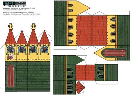paper church template papercraft