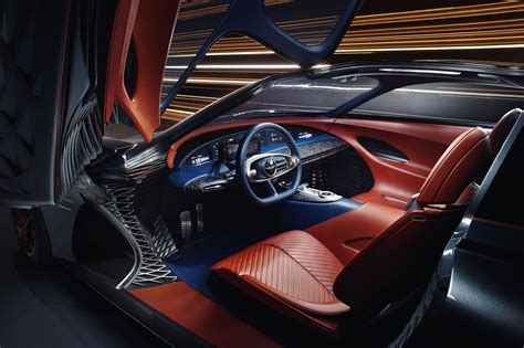 Genesis Auto Upholstery by Essentia Concept Is Genesis Vision Of An Electric Grand