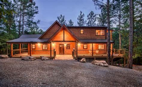 weekend cabin rentals broken bow lake cabin rentals 187 ridge spa cabin