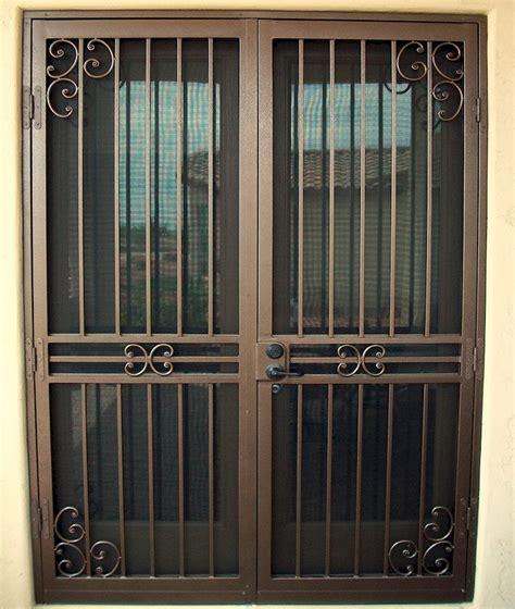 custom security doors phoenix security door iron