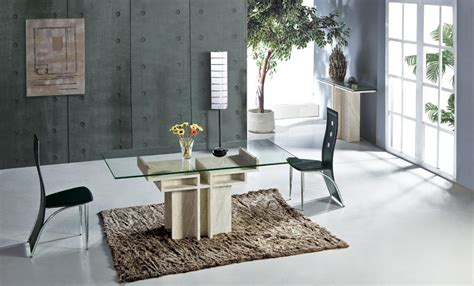 Rectangle Marble Dining Table White Travertine Dining Table With Glass Table Set Marble Dining Furniture