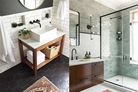 25 unique bathroom floor tiles ideas for small bathrooms