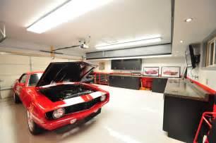 garage lighting design garage man cave beautiful garages pinterest