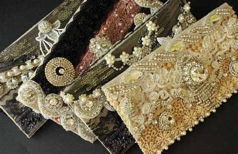 Handmade Clutch Bags Tutorial - tutorial step by step wedding altered bling diy clutches