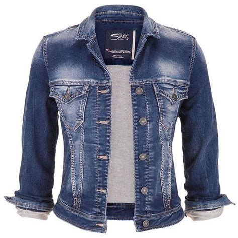 Blueway Blue Wash Denim Vest Scovill Button 1000 images about polyvore on ripped pumps heels and