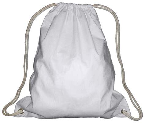 Tas Serut Backpack Drawstring 282 White cool string backpacks click backpacks