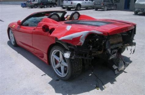360 spider top speed 360 spider gets rear ended by reckless driver news