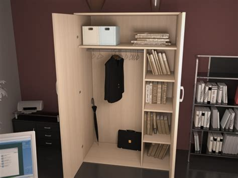 Armoire Penderie 409 by Armoires Bois Clairs Achat Armoires Bois Clairs Pas Cher