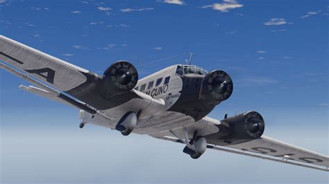 ju 52 3m bomber and junkers ju 52 3m add on gta5 mods com