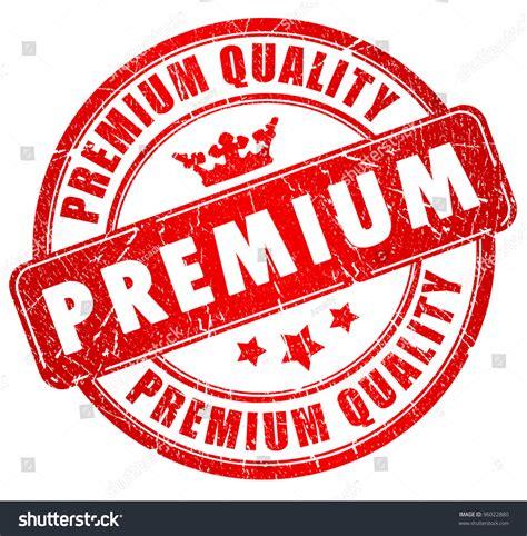 Confidence Premium L 1 premium quality grunge st stock illustration 96022880