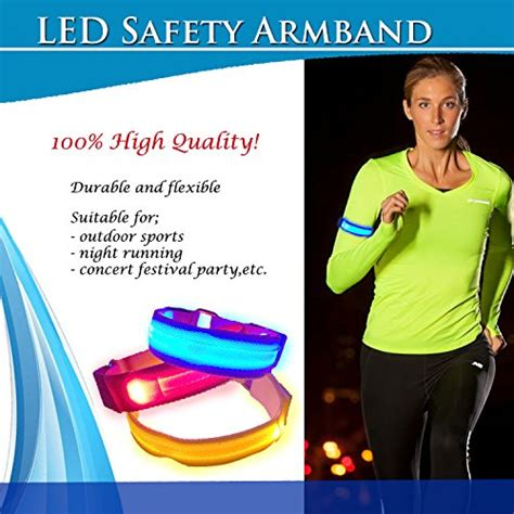safety light for walking at led sports armband safety light for running