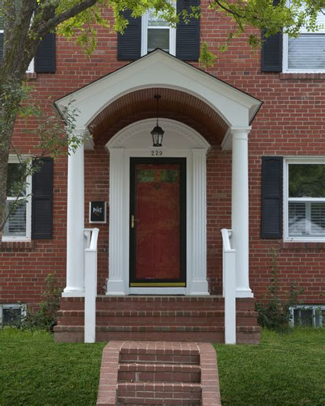 portico design front porches and porticos traditional porch dc