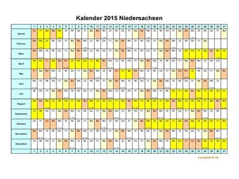 Word Vorlage Jahreskalender 2015 kalender 2015 niedersachsen kalendervip