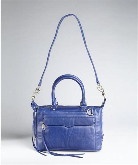 Minkoff Royal Blue Tote by Minkoff Royal Blue Leather Mab Mini Shoulder Bag