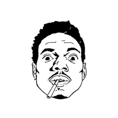 coloring book not as as acid rap chance the rapper drops quot thotty quot demo on toca tuesdays