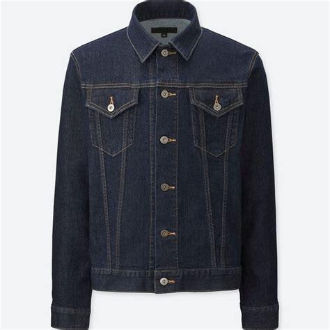 Jaket Bomber Uniqlo denim jacket or suede biker jacket malefashionadvice