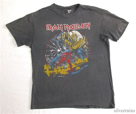 Iron On T Shirt Vintage vintage iron maiden t shirts pics
