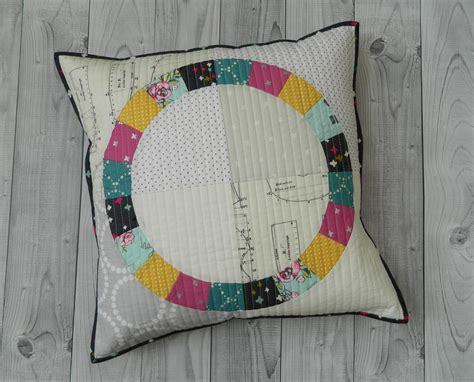 Patchwork Placemat Patterns - quilted pillow cover patchwork placemat pdf sewing