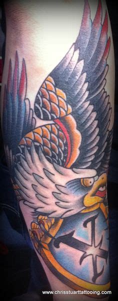 eagle tattoo charlotte nc eagle and shield full chest tattoo by chris stuart www