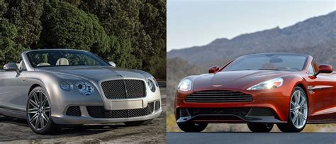 Aston Martin Vs Bentley by Friday Bentley Continental Gt Vs Aston Martin