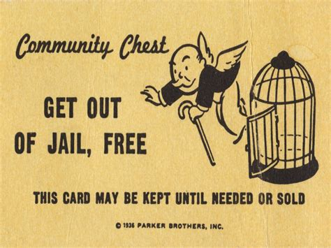 get out of free card monopoly template new york bans monopoly from prisons after recent escapes