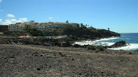 Volcanic Beach Callao Salvaje Footage Stock Clips