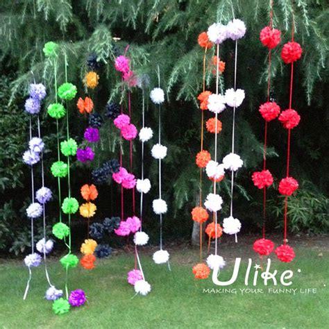 How To Start A Flower Garden In Your Backyard Thick Tinsel Garland Wedding Rose Petals Garlands White