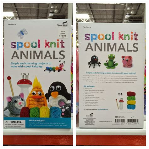spool knit animals the costco connoisseur celebrate easter with costco