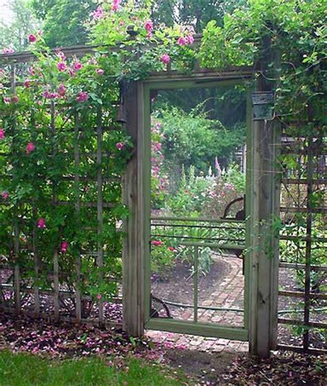 altes gartentor dishfunctional designs the upcycled garden ii