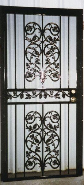 security bars doors metal fabrication aluminum