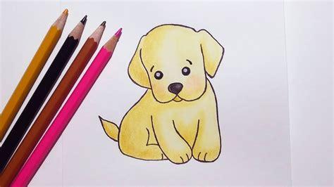 draw  cute puppy easy youtube