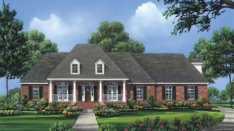 One Story Floor Plans With Two Master Suites by 4 Bedroom Home Plans Four Bedroom Home Designs From